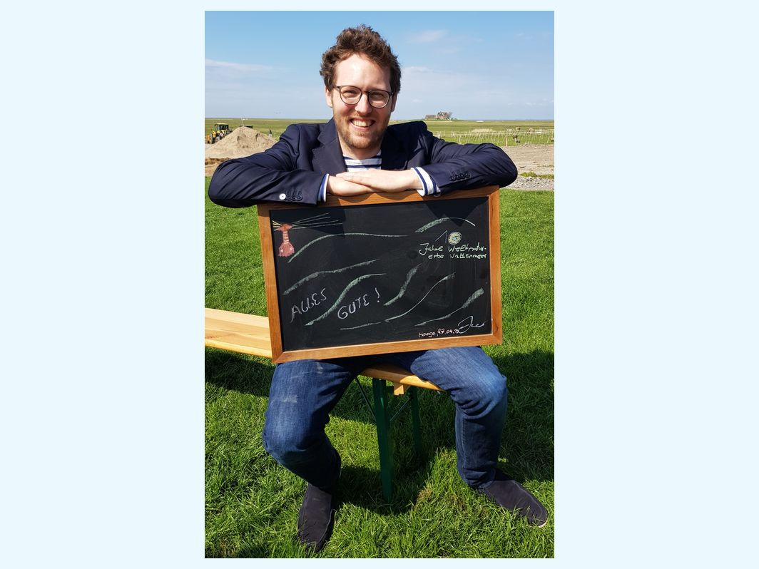 #happywaddensea greetings by Jan Philipp Albrecht, Schleswig-Holstein Environmental Minister, from the Brend Goose Days 2019. LKN.SH.