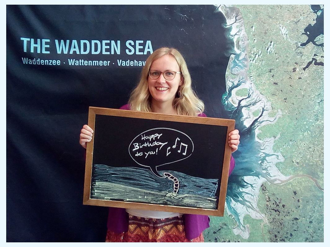 #happywaddensea from the BMU