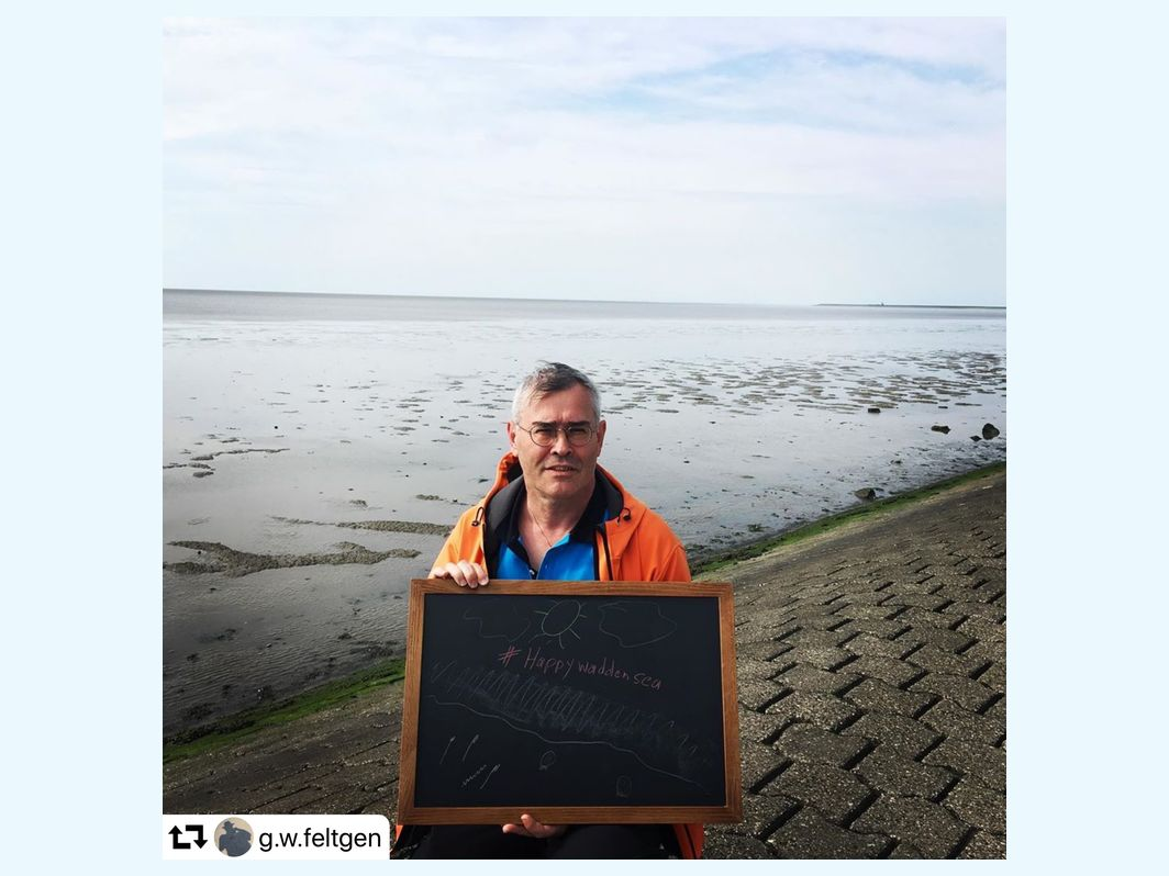 #happywaddensea via Instagram
