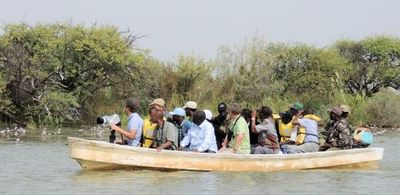 Regional workshop on the management of key sites for migratory birds, Djoudj, Senegal 2013. Tim Dodman.